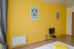 Yellow Rooms on Podmoskovny Boulevard