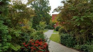 ゲステハウス パウリーネにある庭