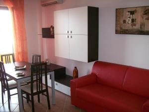 A seating area at KaRol Casa Vacanze