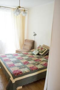 Кровать или кровати в номере Apartment Lida Castle