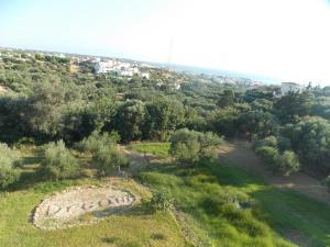 Een luchtfoto van Dream Village