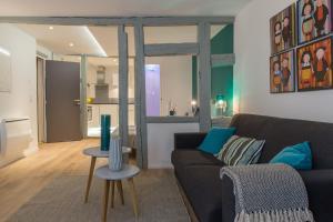 Zona de estar de Grand studio Colmar Centre
