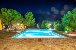 The swimming pool at or near Pegasos Studios