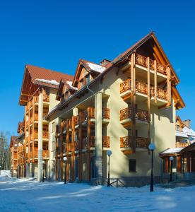 Apartamenty Urocza 5 during the winter