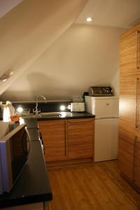 A kitchen or kitchenette at Decca - Self Catering Shetland