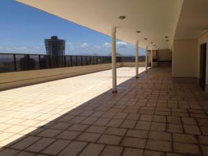 Balkoni atau teres di Flat Ed Praia Dourada