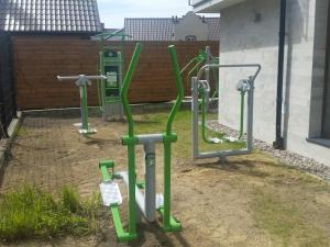 The fitness center and/or fitness facilities at Marina Jastarnia Bis