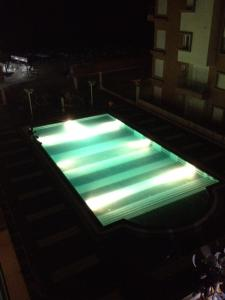 The swimming pool at or near Le Monte Carlo