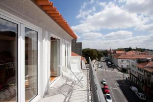 Un balcón o terraza de Belas Artes Apartments