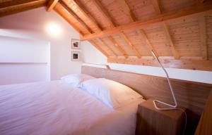 Cama o camas de una habitación en Belas Artes Apartments