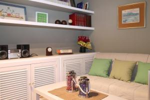 A seating area at Apartamento Tosca Deco