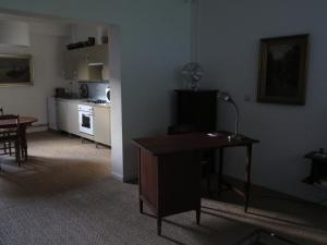 A kitchen or kitchenette at Apartment Jules & Jim