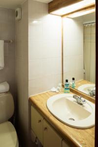 A bathroom at Presidente Edificio Santiago