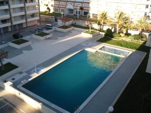 A view of the pool at Peniscola Azhar APL 2 or nearby