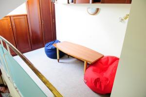 TV in/ali zabaviščno središče v nastanitvi Apartments Mihole - Vila Golf