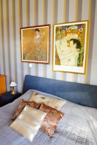 Postelja oz. postelje v sobi nastanitve Apartments Ilsole Vila Golf