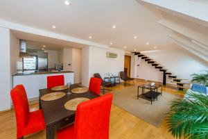 Charles Square Duplex Apartment