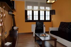 Zona de estar de Apartamentos Tajamar