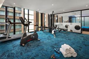 The fitness centre and/or fitness facilities at Quest St Leonards