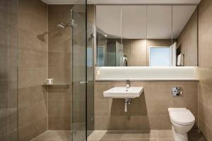 A bathroom at Quest St Leonards