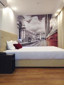 Cama o camas de una habitación en Lisbon City Apartments & Suites