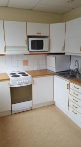 A kitchen or kitchenette at Apartments Centralstation