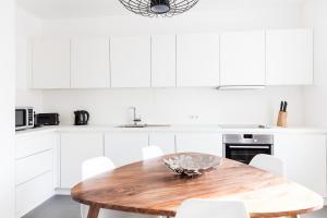 Dapur atau dapur kecil di Aparthotel Italia