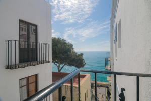 A balcony or terrace at Apartmento Chic