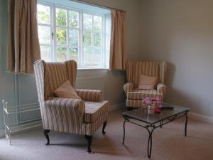 A seating area at The Lodge