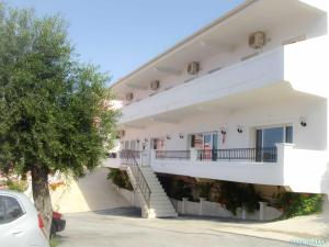 Het gebouw waarin het aparthotel zich bevindt