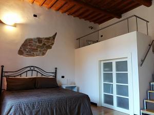 Un ou plusieurs lits dans un hébergement de l'établissement Seashell Apartament