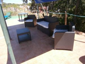 A seating area at holiday`house