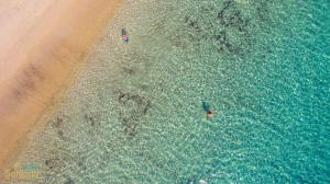 A bird's-eye view of Santana Beach