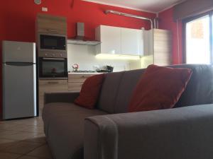 Кухня или мини-кухня в Appartamento Arco