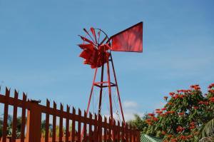 Die Rooi Windpomp