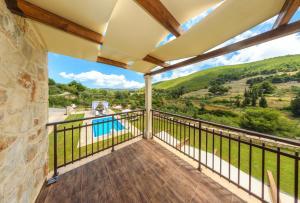 Balcon ou terrasse dans l'établissement Eden Villas