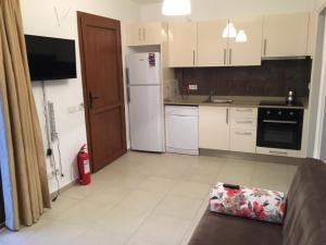 Kuchnia lub aneks kuchenny w obiekcie Aybey Apart Hotel