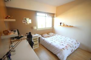 Posteľ alebo postele v izbe v ubytovaní Riviera Le Fabron