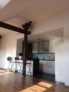 Spacious Apt. with Terrace close to Prague Castle