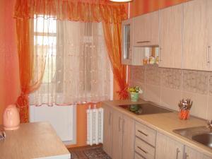 Кухня или мини-кухня в Center Apartment Tiraspol
