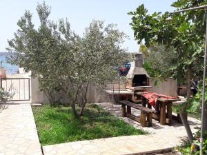 A porch or other outdoor area at Apartments Jaram