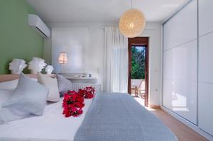 A bed or beds in a room at Casa Christina