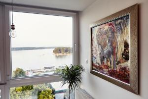 (Belgrade River Front Apartment)