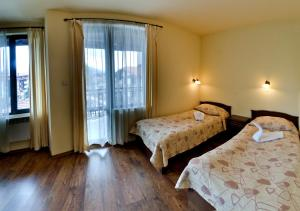 A room at Mountain Romance Apartments & Spa