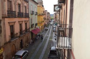 A balcony or terrace at Appartamento Arcobaleno