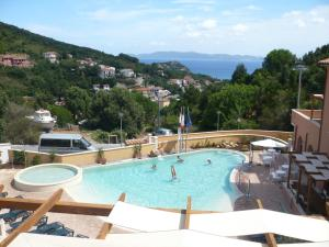 A view of the pool at Residence La Pergola or nearby