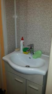 Ванная комната в Apartment on Prosect Octyabrya