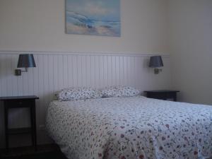 A bed or beds in a room at Casa Agricola Quinta Da Junqueira