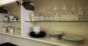 Küche/Küchenzeile in der Unterkunft Art Apartment Scharitzerstraße