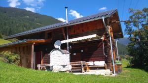 Αίθριο ή υπαίθριος χώρος στο Ferienhütte Georg